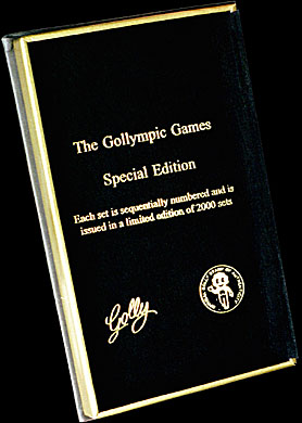 Inside Cover of Gollympic Box