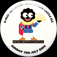 Kenilworth Tin Badge