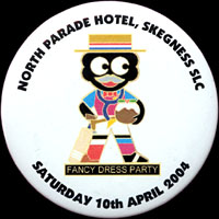 Skegness Fancy Dress Tin Badge