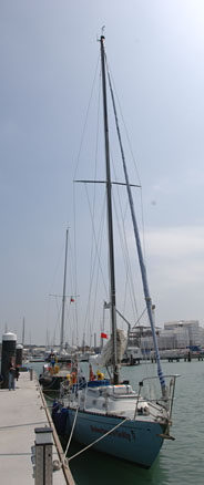 Robertson's Golly at Cowes, Isle of Wight