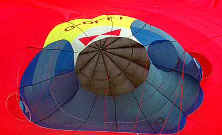 Inside out when inflated