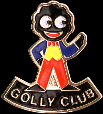 Golly Club Brooch