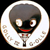 Golly IV brooch